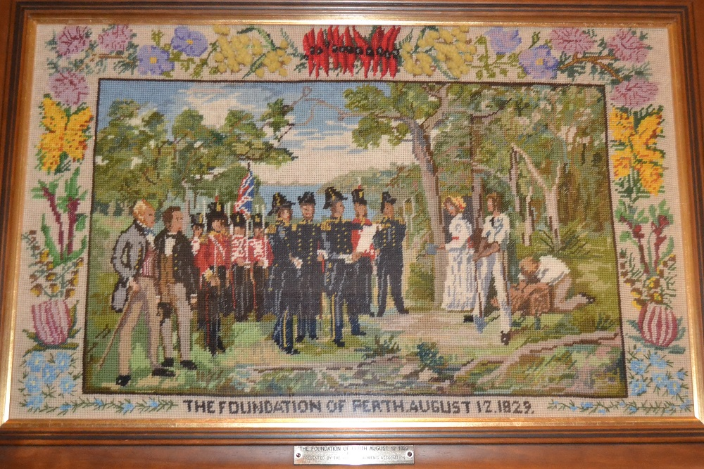 /WebCMS/WebCMS.nsf/Tapestry depicting the Foundation of Perth, 12 August 1829, by the Country Women's Association