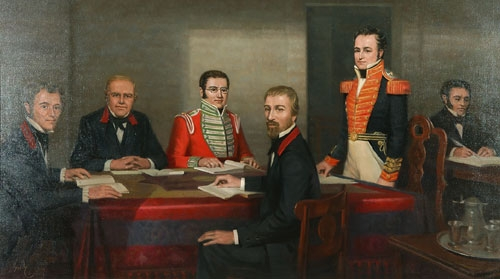 Early Meeting of the Legislative Council by Owen Garde